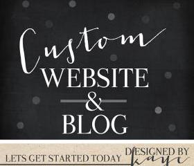 Custom Website Custom Blog, Custom Website for Photographers and other small businesses Wordpress Website Wordpress Blog ECommerce